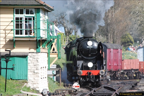 2017-03-31 The Swanage Railway Strictly Bulleid Gala.  (324)324