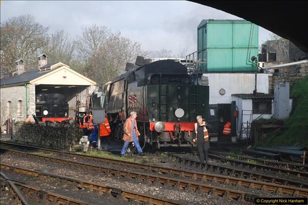 2017-03-31 The Swanage Railway Strictly Bulleid Gala.  (46)046