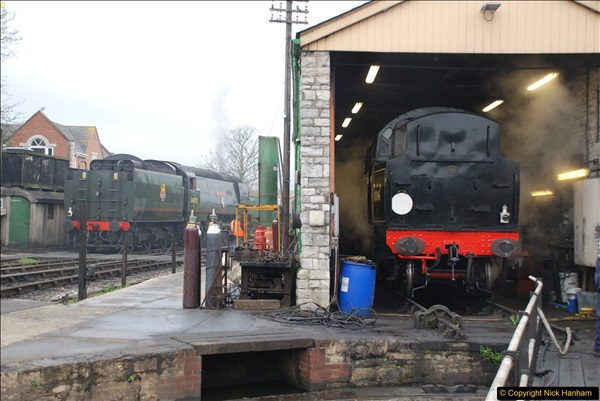 2017-03-31 The Swanage Railway Strictly Bulleid Gala.  (63)063