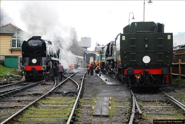 2017-03-31 The Swanage Railway Strictly Bulleid Gala.  (68)068
