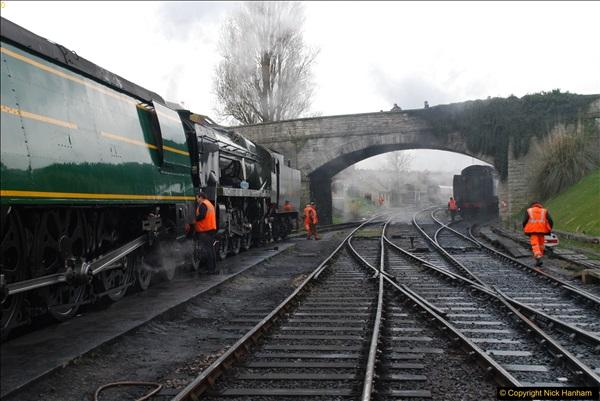 2017-03-31 The Swanage Railway Strictly Bulleid Gala.  (79)079