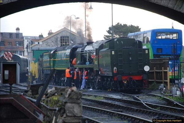 2017-03-31 The Swanage Railway Strictly Bulleid Gala.  (8)008
