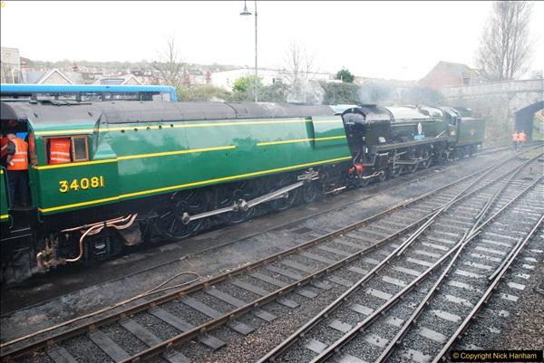 2017-03-31 The Swanage Railway Strictly Bulleid Gala.  (83)083