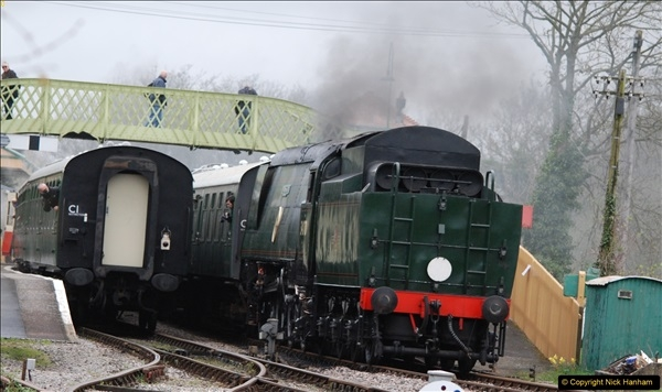 2017-03-31 The Swanage Railway Strictly Bulleid Gala.  (123)123
