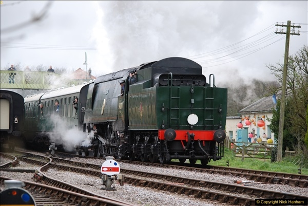 2017-03-31 The Swanage Railway Strictly Bulleid Gala.  (125)125