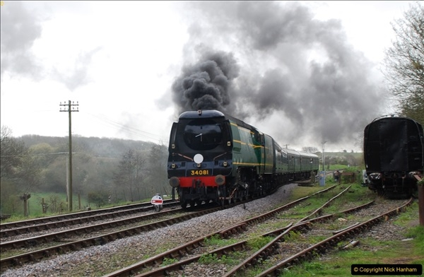 2017-03-31 The Swanage Railway Strictly Bulleid Gala.  (136)136