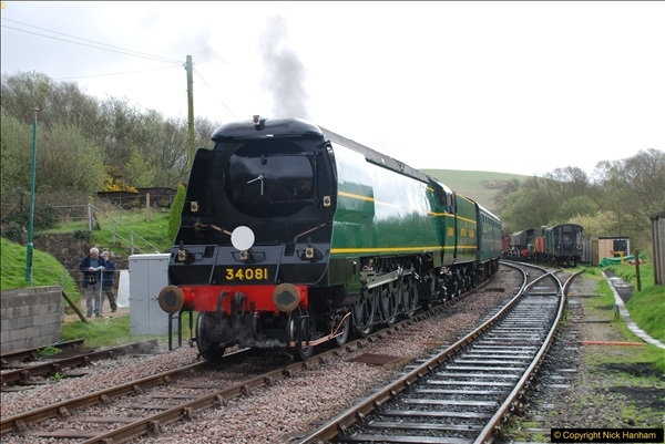2017-03-31 The Swanage Railway Strictly Bulleid Gala.  (145)145
