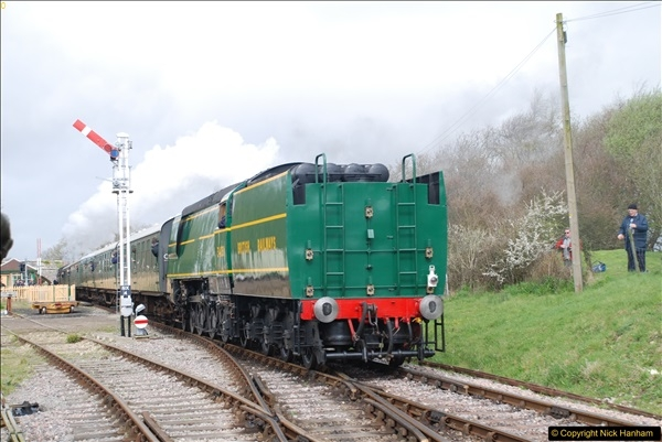 2017-03-31 The Swanage Railway Strictly Bulleid Gala.  (181)181