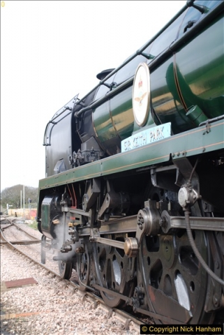 2017-03-31 The Swanage Railway Strictly Bulleid Gala.  (188)188