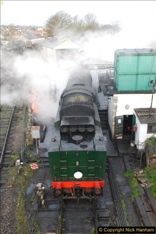 2017-03-31 The Swanage Railway Strictly Bulleid Gala.  (2)002