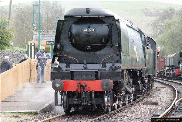 2017-03-31 The Swanage Railway Strictly Bulleid Gala.  (200)200