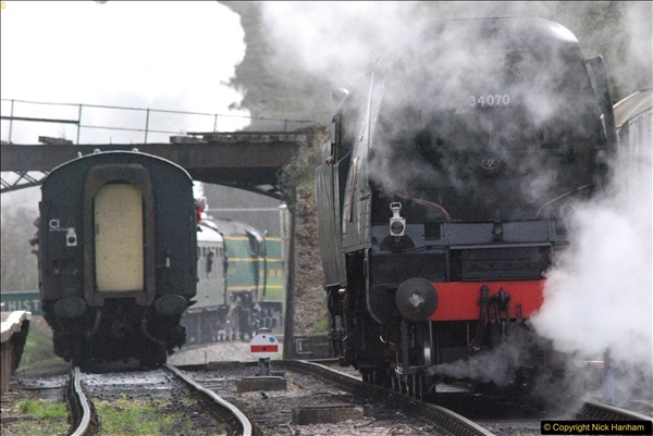 2017-03-31 The Swanage Railway Strictly Bulleid Gala.  (203)203
