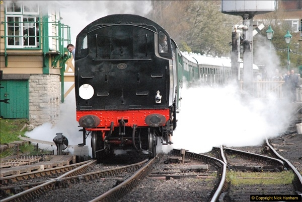 2017-03-31 The Swanage Railway Strictly Bulleid Gala.  (228)228