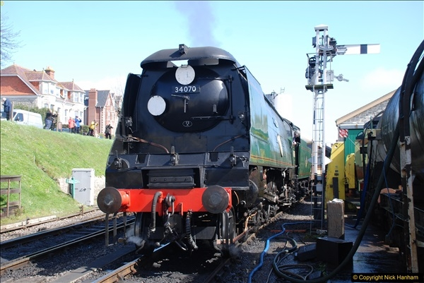 2017-03-31 The Swanage Railway Strictly Bulleid Gala.  (253)253
