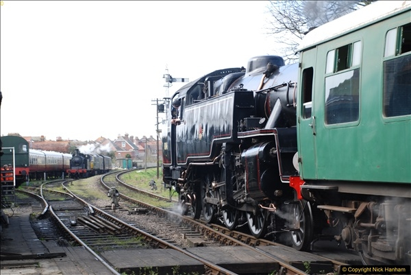 2017-03-31 The Swanage Railway Strictly Bulleid Gala.  (264)264