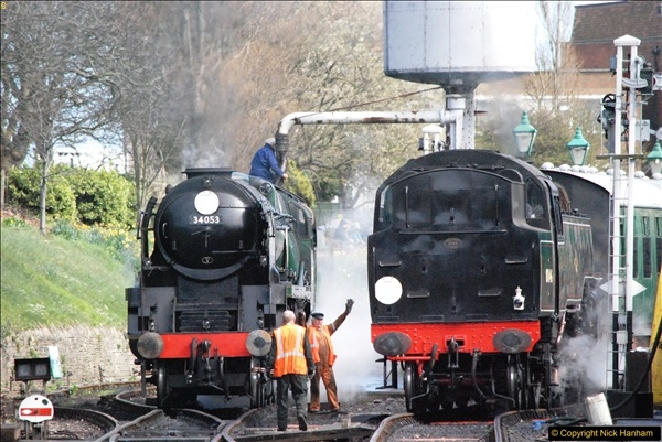2017-03-31 The Swanage Railway Strictly Bulleid Gala.  (265)265