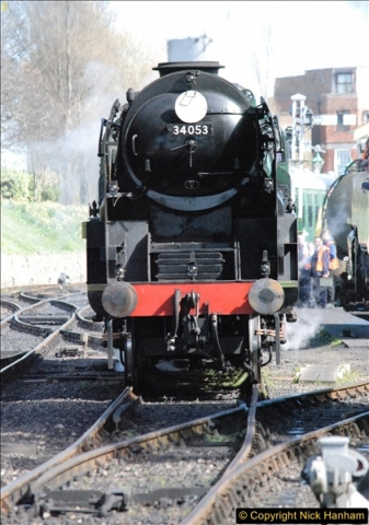 2017-03-31 The Swanage Railway Strictly Bulleid Gala.  (267)267