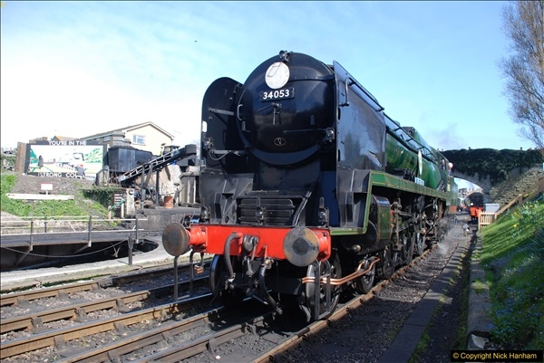 2017-03-31 The Swanage Railway Strictly Bulleid Gala.  (272)272
