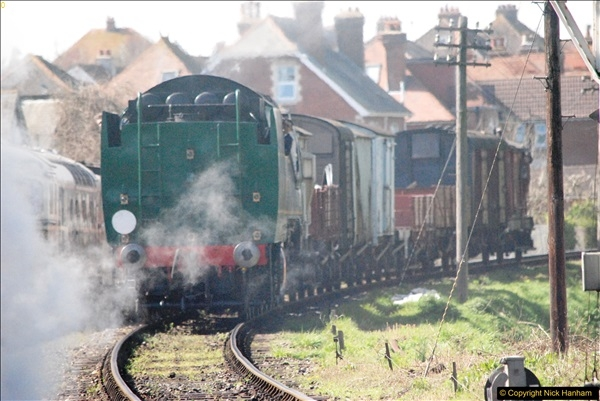 2017-03-31 The Swanage Railway Strictly Bulleid Gala.  (282)282