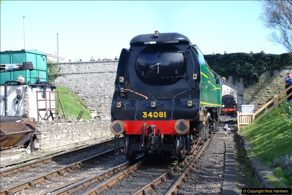 2017-03-31 The Swanage Railway Strictly Bulleid Gala.  (286)286