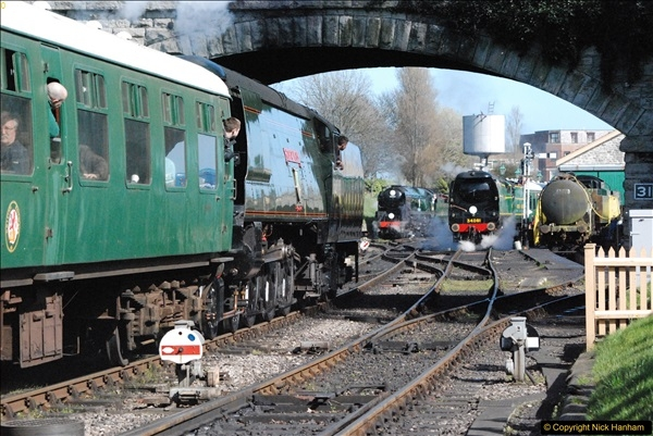 2017-03-31 The Swanage Railway Strictly Bulleid Gala.  (306)306