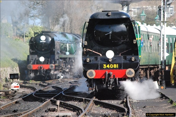 2017-03-31 The Swanage Railway Strictly Bulleid Gala.  (312)312