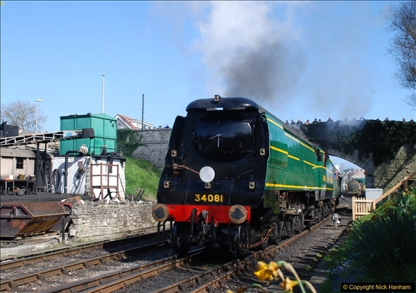 2017-03-31 The Swanage Railway Strictly Bulleid Gala.  (316)316