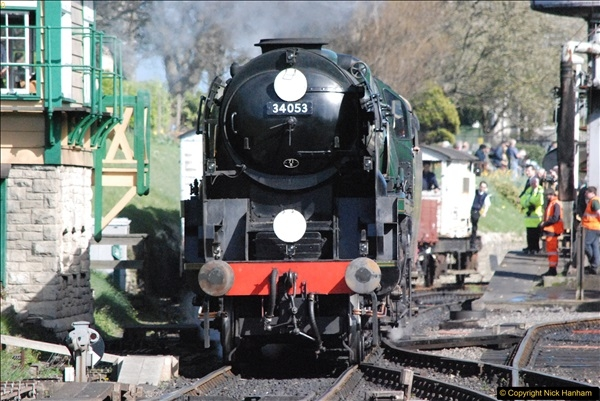 2017-03-31 The Swanage Railway Strictly Bulleid Gala.  (326)326