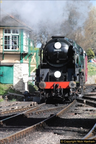 2017-03-31 The Swanage Railway Strictly Bulleid Gala.  (327)327
