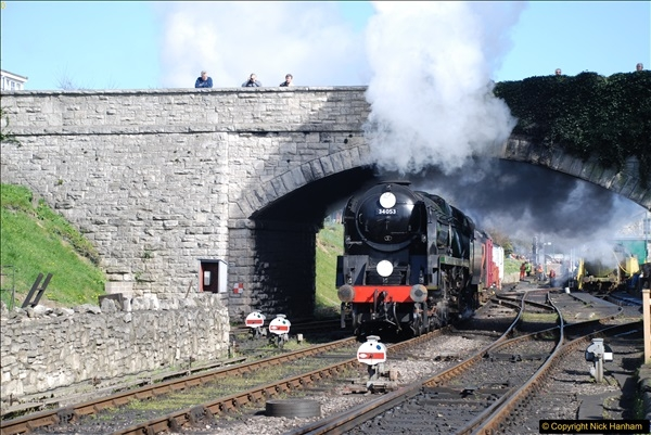 2017-03-31 The Swanage Railway Strictly Bulleid Gala.  (330)330
