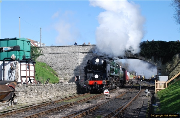 2017-03-31 The Swanage Railway Strictly Bulleid Gala.  (331)331