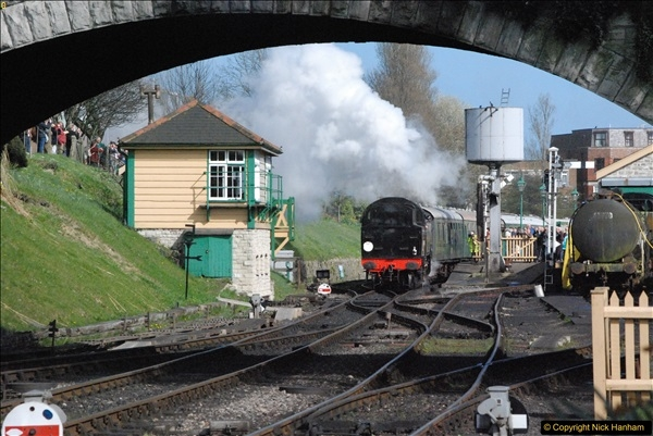 2017-03-31 The Swanage Railway Strictly Bulleid Gala.  (338)338