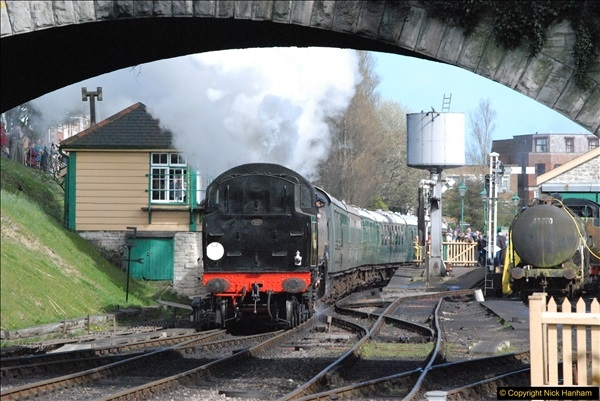 2017-03-31 The Swanage Railway Strictly Bulleid Gala.  (339)339