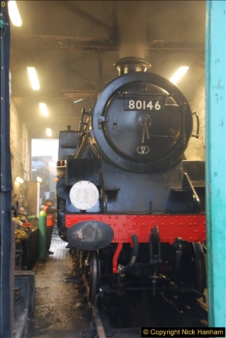 2017-03-31 The Swanage Railway Strictly Bulleid Gala.  (62)062
