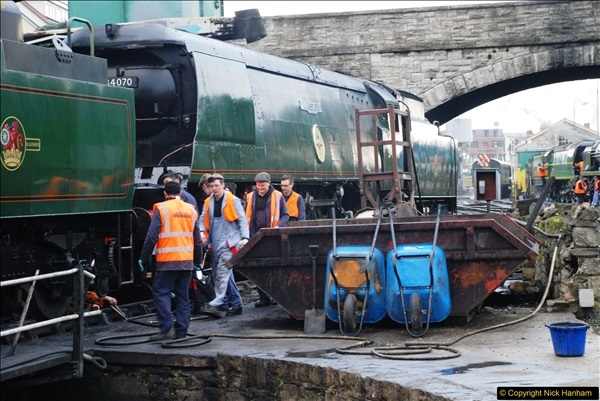 2017-03-31 The Swanage Railway Strictly Bulleid Gala.  (7)007