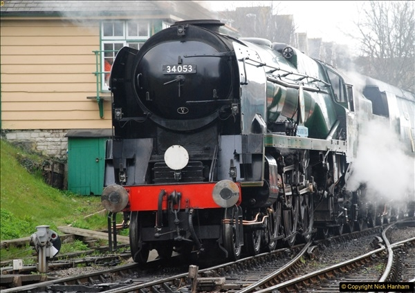 2017-03-31 The Swanage Railway Strictly Bulleid Gala.  (70)070