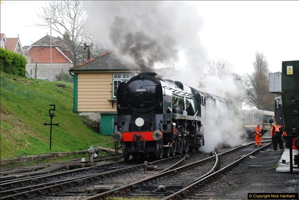 2017-03-31 The Swanage Railway Strictly Bulleid Gala.  (72)072