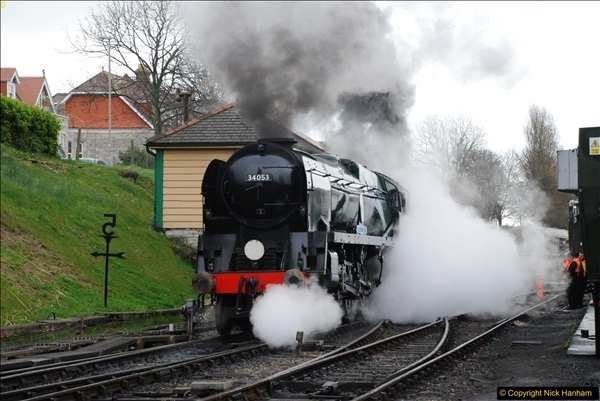 2017-03-31 The Swanage Railway Strictly Bulleid Gala.  (73)073