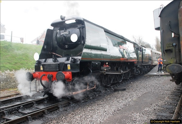 2017-03-31 The Swanage Railway Strictly Bulleid Gala.  (98)098