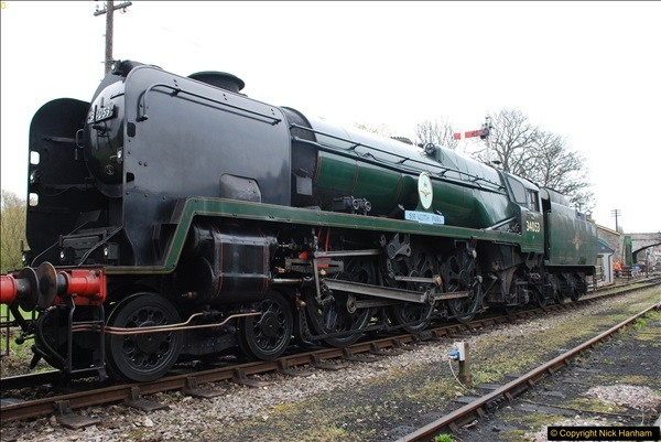 2017-03-29 Strictly Bulleid.  (62)062
