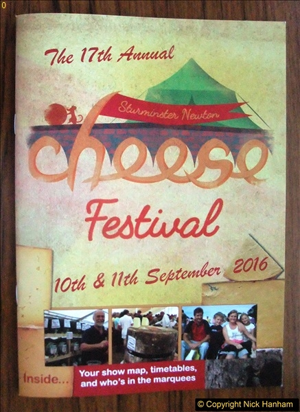 Sturminster Newton Cheese Festival 11 September 2016