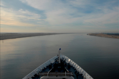MV Discovery Eastern Med. Cruise Suez Canal 06 November 2011