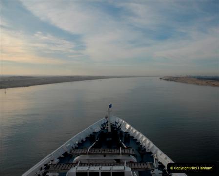 MV Discovery Eastern Med. Cruise Suez Canal 06 November 2011