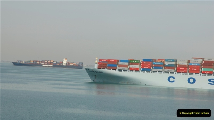 2011-11-10 North to South Transit of the Suez Canal, Egypt.  (126)