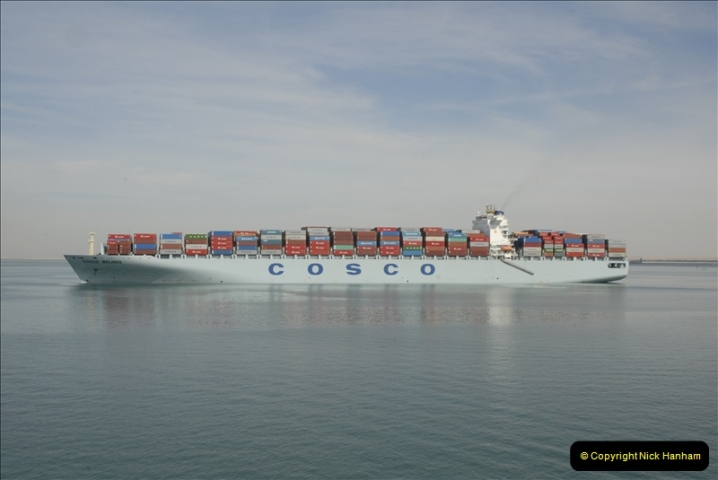 2011-11-10 North to South Transit of the Suez Canal, Egypt.  (127)