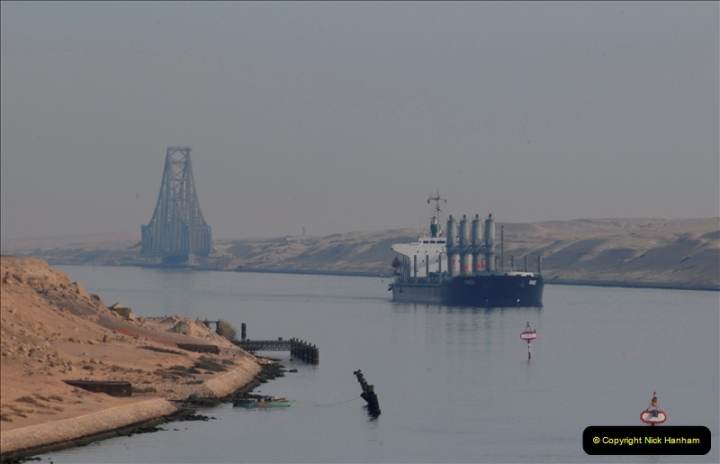 2011-11-10 North to South Transit of the Suez Canal, Egypt.  (13)