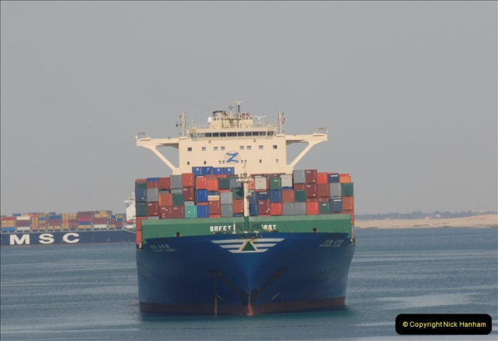 2011-11-10 North to South Transit of the Suez Canal, Egypt.  (140)