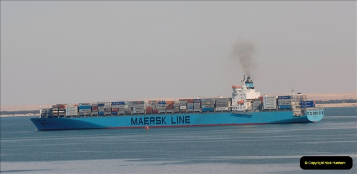 2011-11-10 North to South Transit of the Suez Canal, Egypt.  (142)