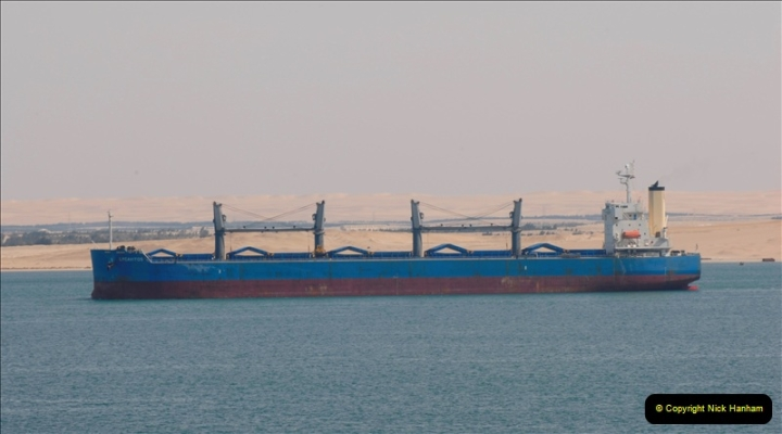 2011-11-10 North to South Transit of the Suez Canal, Egypt.  (152)