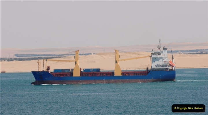 2011-11-10 North to South Transit of the Suez Canal, Egypt.  (154)